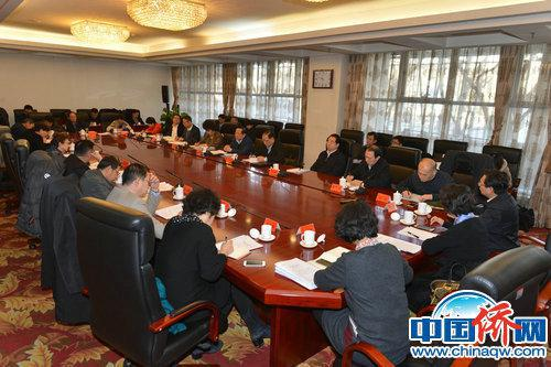 """1月12日,第35次中央""""五侨""""领导联席会议在中国侨联召开。"""