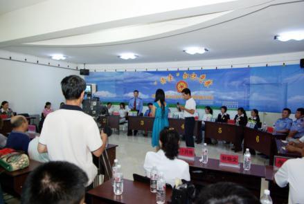 侨务部门组织侨法知识竞赛。