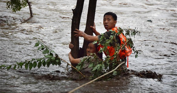Beijing sees flooding after days of rain