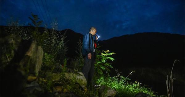 Man dedicated to monitoring landslide risk for nine years