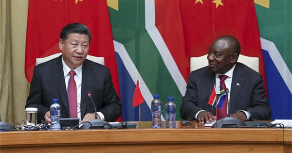 China, South Africa agree to enhance friendship