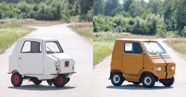 Two of the world's smallest cars to be under hammer in London