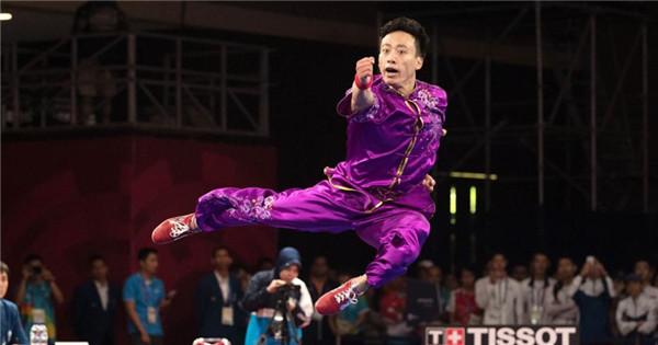 Sun Peiyuan claims 18th Asian Games