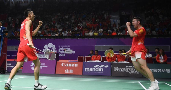 China overcome Indonesia to claim men