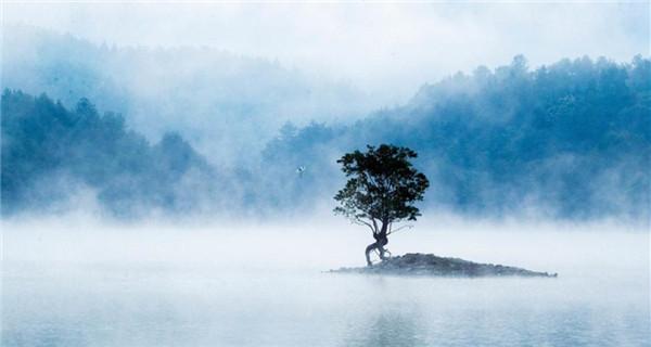 Eastern Qishu Lake looks like fairyland