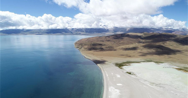 Scenery of Ngari area in Tibet