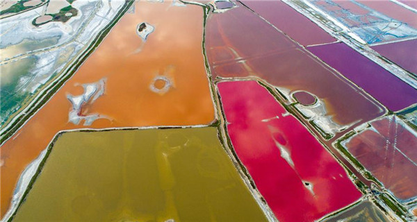 Patchwork of colors punctuate Shanxi
