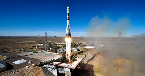Rocket carrying ISS crew fails after launch, crew safe