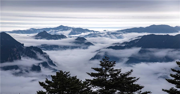 Amazing scenery of Shennongding Scenic Area in China
