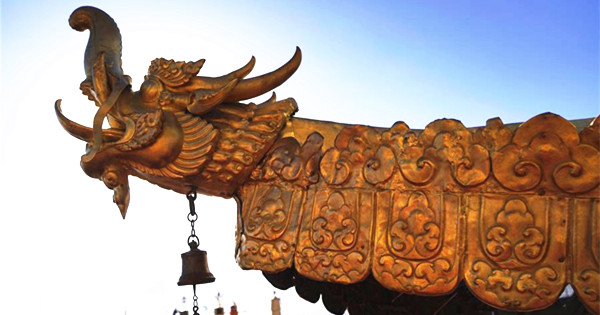 Gold-plated Potala Palace gets repair