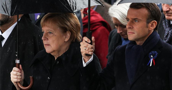 World leaders commemorate end of WWI
