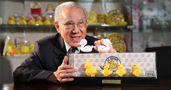 L.T. Lam, the pioneer of HK's yellow ducks empire