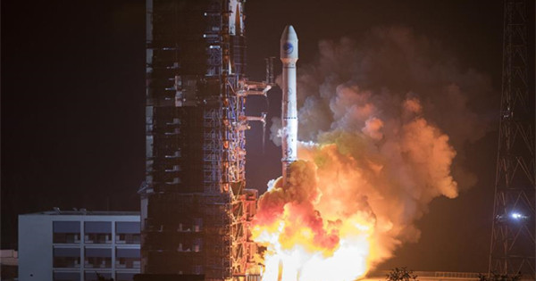 China launches twin BeiDou navigation satellites