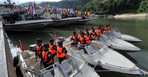 76th Mekong River joint patrol begins in SW China