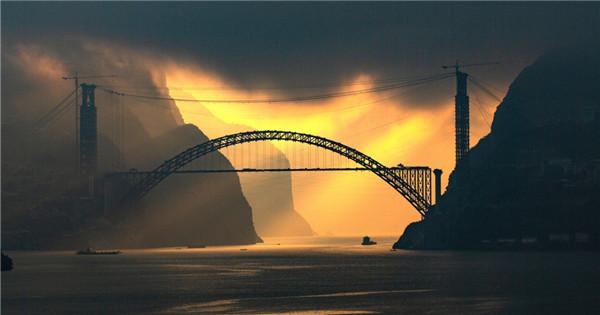 Stunning view of Yangtze River
