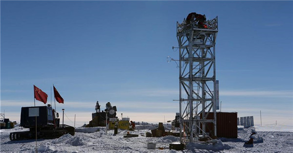 China installs new telescope at Antarctica