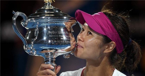 Li Na heads to Tennis Hall of Fame