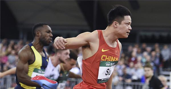 China's Su-per fast unbeaten in season-opening races