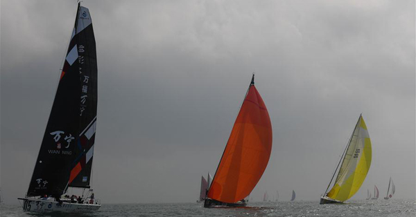 Highlights of offshore race at 2019 Round Hainan Regatta