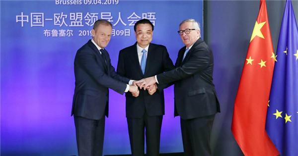 China, EU vow to facilitate trade
