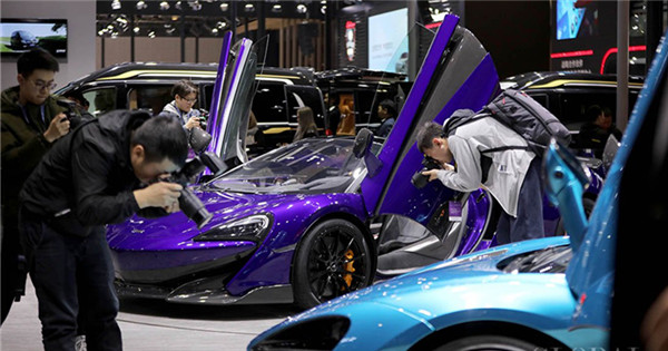 5G and electric vehicles shine in the 2019 Shanghai Auto Show
