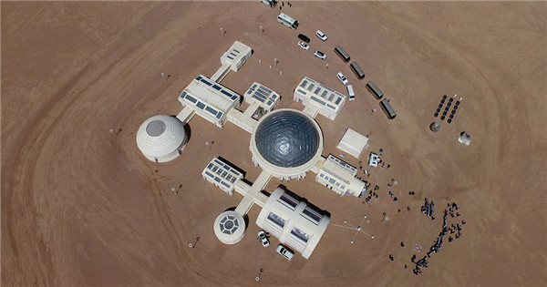 Mars base opens in desert