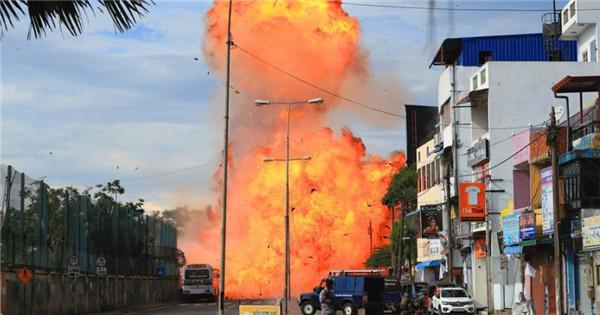 Another blast rocks Sri Lanka as terror attack continues
