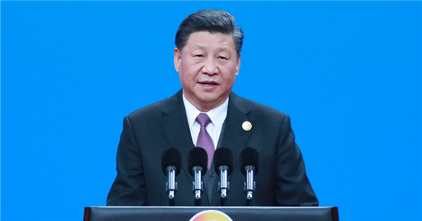 Xi delivers keynote speech at second B&R forum