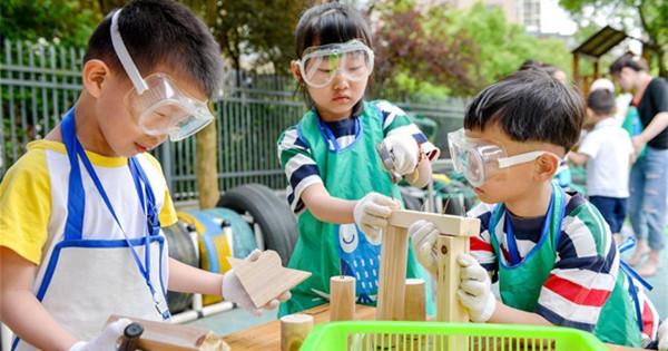 Children across China welcome upcoming International Children