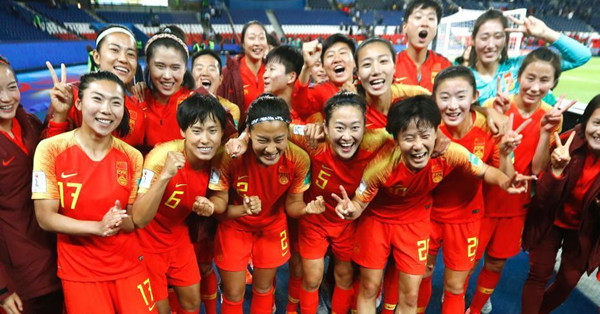China edges out South Africa at Women