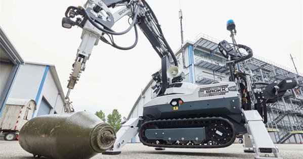 Brokk 120 D: New tool designed for ordnance clearance