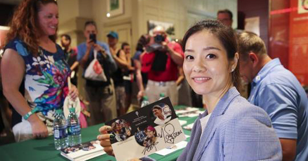 Li Na inducted into World Tennis Hall of Fame