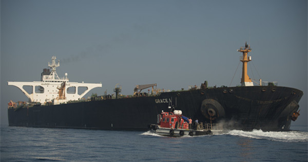 Iranian supertanker released by Gibraltar