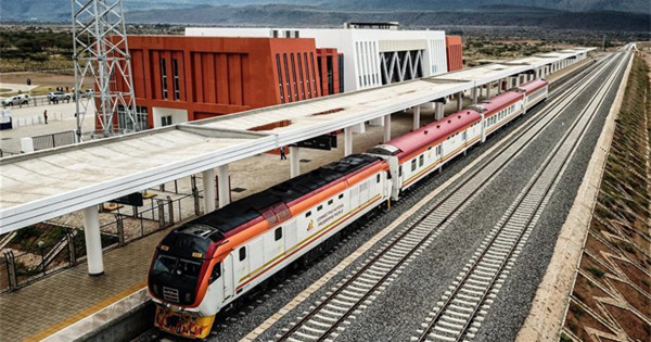 Kenya's SGR phase 2A project launches test run
