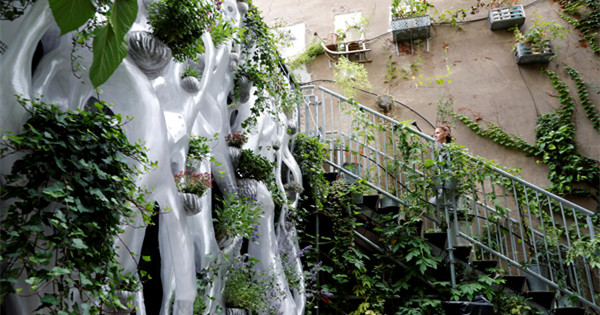 First 3D-printed urban biodiversity habitat installation in Berlin