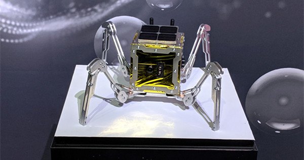 UK spider-like moon rover aim to make history in 2021