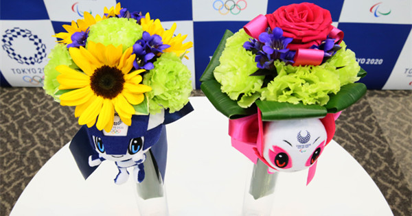 Tokyo 2020 medalists�� bouquets sourced from earthquake-affected areas
