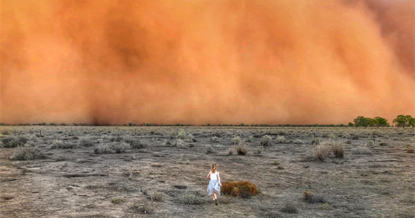 Amid raging wildfires, Australia hit by dust storms