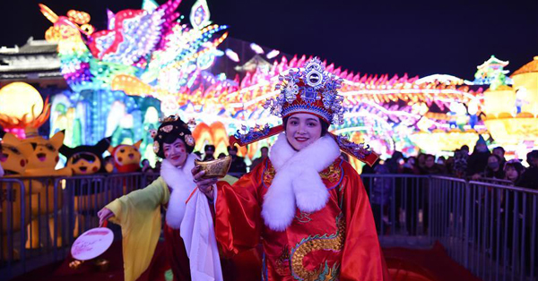 Lantern fair held in Datong, Shanxi Province