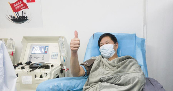 Recovered patients donate plasma to save more