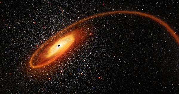 Hubble finds evidence for elusive mid-sized black hole
