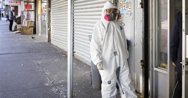 In pics: Chinatown in NYC amid coronavirus outbreak