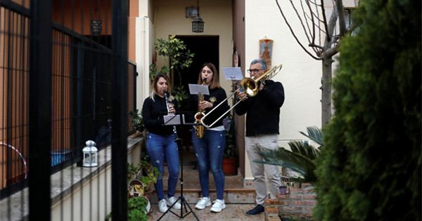 Family's Holy Week message: Music can overcome isolation