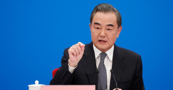 Chinese FM meets the press on foreign policy, relations