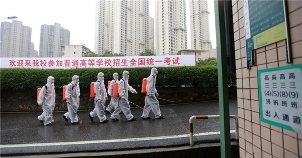 Preparation under way for national college entrance exam in China