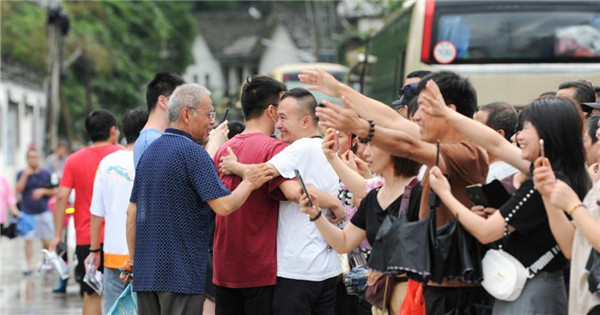 National college entrance exam concludes in Shexian County, Anhui