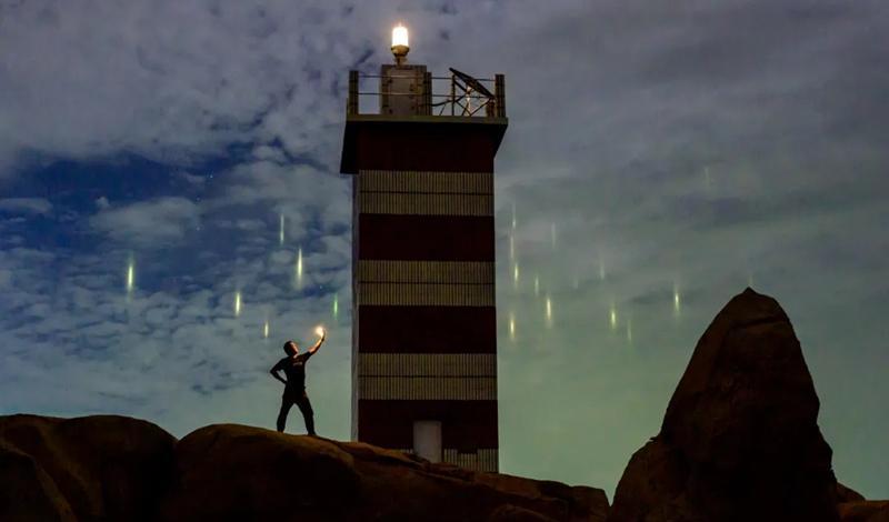 Rare celestial phenomenon appears over Fuzhou