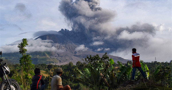 Indonesia's Mount Sinabung volcano erupts twice in three days