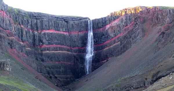 Hengifoss: Amazing waterfall in Iceland