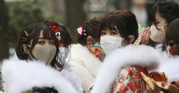Japanese youth celebrate Coming of Age Day under COVID-19's shadow
